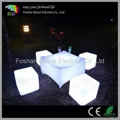 Lighted Plastic Table