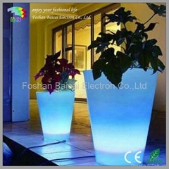 Glowing Flower Pot for Gargen