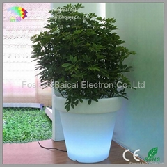 LED Light Flower Pot