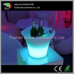 LED Plastic Ice Buckets