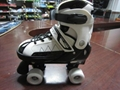 semi soft double row  roller skates