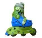 three wheels in line skates