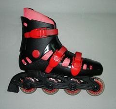 in line skates four wheels