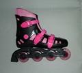 in line skates four wheels 4