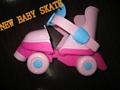 baby skates set 4