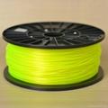 3D Printing Materials Plastic Rod for 3D Printer PLA Filament 1.75mm 21 Colors