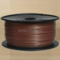 PLA Filament for 3D Printer 1.75mm 3mm 21 Colors 1KG Spool