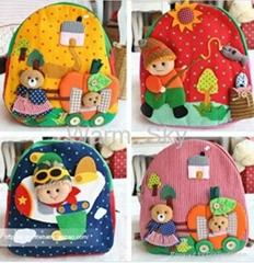 children's nursery bags  soft backpack
