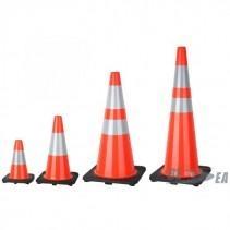 Black Base PVC Traffic Cone