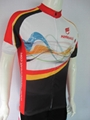 high quality short sleevecycling jersey with sublimation printing 2