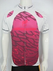 cycling  jersey with sublimation printing