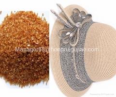 Hide adhesive animal bone glue for straw hat