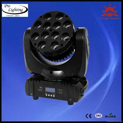 12PCS*10W 4-in-1 CREE LED beam