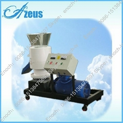 Flat Die Pellet Mill With Electric Motor