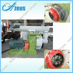 Ring Die Wood Pellet Mill With CE Approved