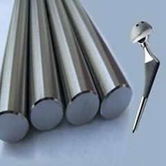 Medical surgical implants titanium rods