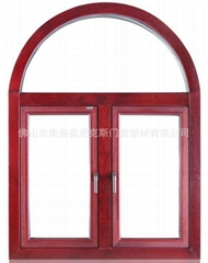 Aluminum Clad Wood Outside-swing Window With Mosquito Mesh(AN108)