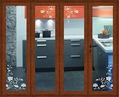 Aluminum Folding Doors(Aonikesi AF758 )