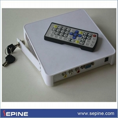 CF card digital media player box with 720P Output