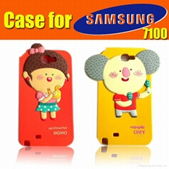 Sell silicone case for 7100 Galaxy S4 case