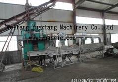 3-6 t/h spherical bio organic fertilizer granulating machine