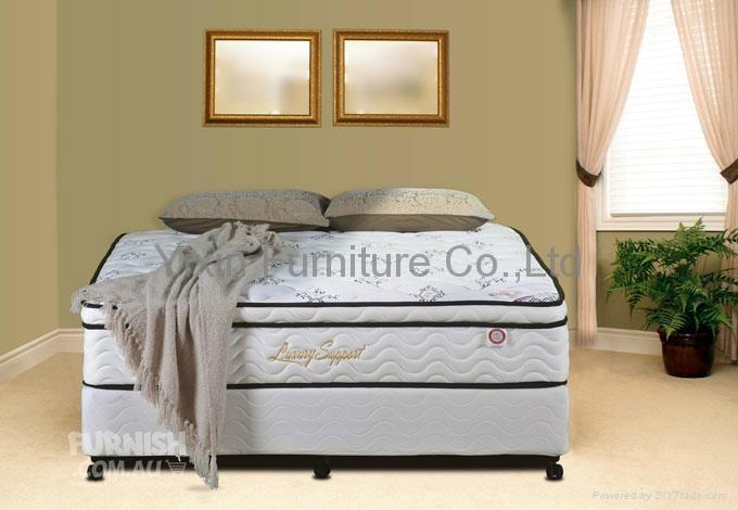 Euro pillow top mattress 1