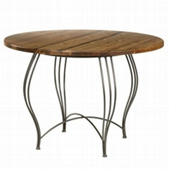Wrought iron breakfast table MBB-001