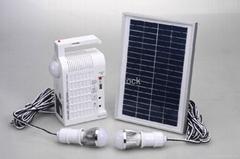 6W Solar home lighting system