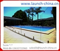 frameless glass pool fence for swimming