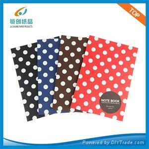 Simple design notebook(Polka dots ) 1