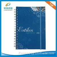 A5 Hard Cover Notebook with elastic strap