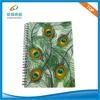 Colourful PP cover spiral notebook