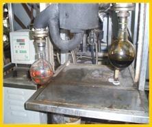 black engine oil regeneration plant 1