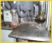black engine oil regeneration plant