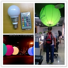 Attractive inflatable led backpack balloon for advertising
