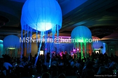 led inflatable jellyfish decorations balloon as decoration advertising