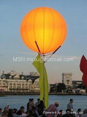 inflatable stand light balloon for decoration and advertising