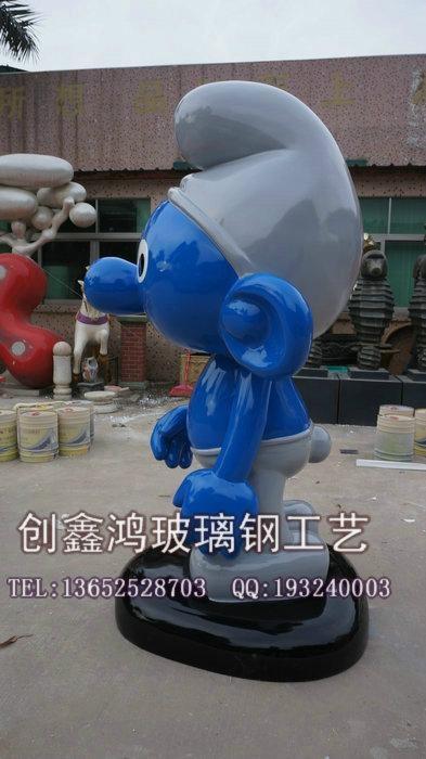 动漫卡通米奇雕塑 4