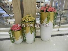 商場組合花盆