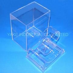 Transparent watch box