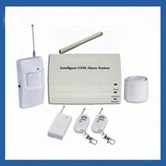 Patrol Hawk G12 Industry Household GSM Intelligent Alarm System - White