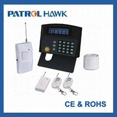 Wireless home alarm system with LCD display and Keypad control (PH-G50B)