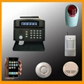 Wireless home alarm system with LCD display and Keypad control (PH-G50B) 2