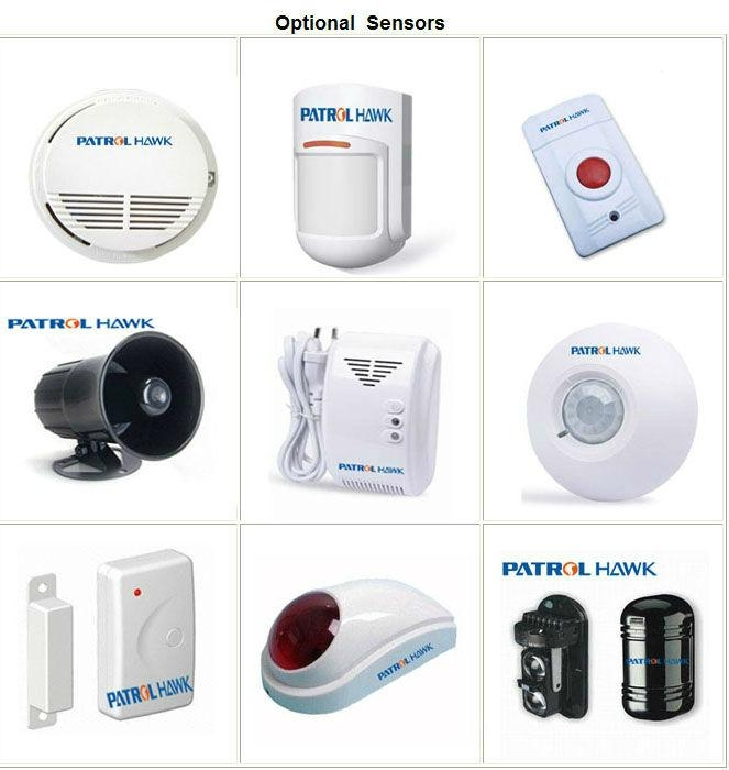 Wireless home alarm system with LCD display and Keypad control (PH-G50B) 4
