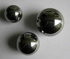 Cemented carbide ball