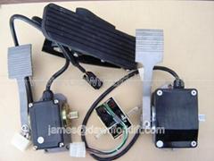 Forklift Stacker Pallet Golf cart Truck Pedal accelerator Electric throttle