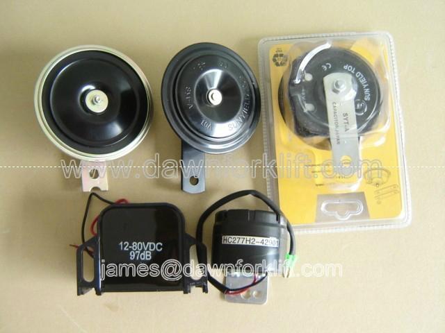 forklift stacker paller 12 48v electromagnetic horn 12 80v reverse
