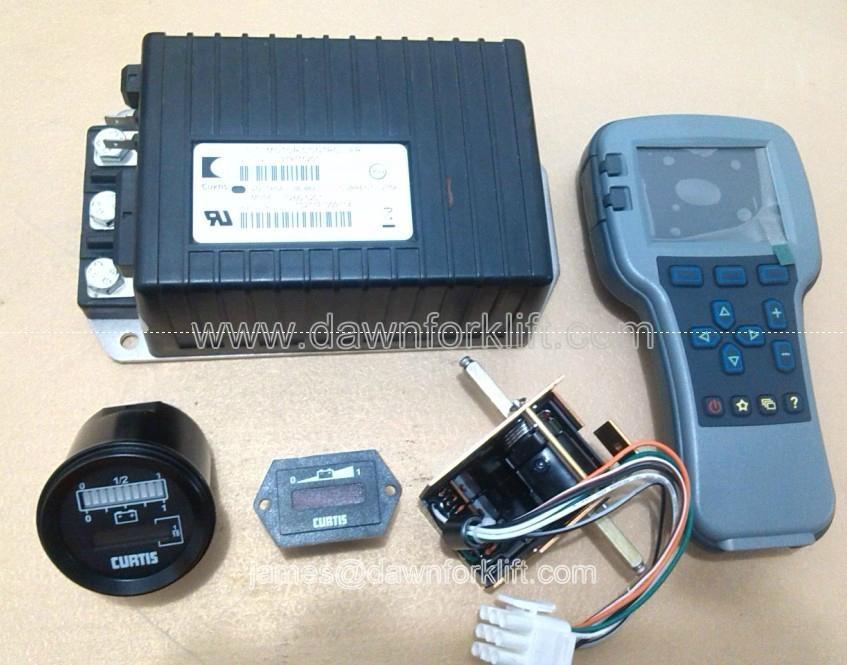 Original curtis 1266 5201 sepex controller for electric for Curtis dc motor controller 1243