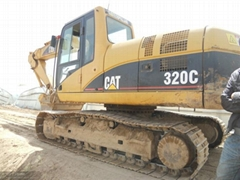 Used excavator Caterpillar 320C