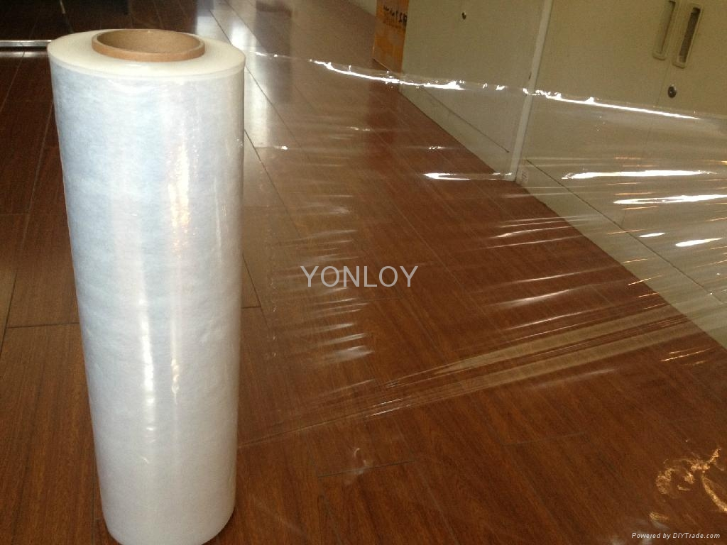 High Stretching Quality PE Stretch Wrapping Film 1